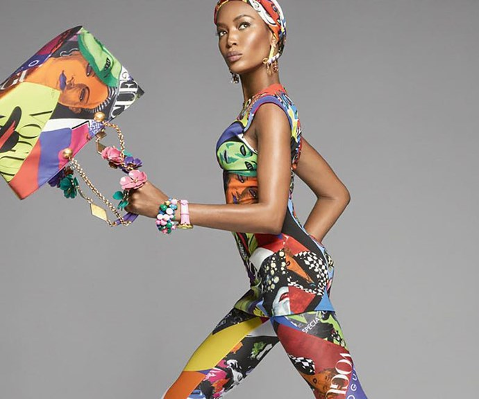 Versace's Spring 2018 Campaign Is An Epic Supermodel Mashup