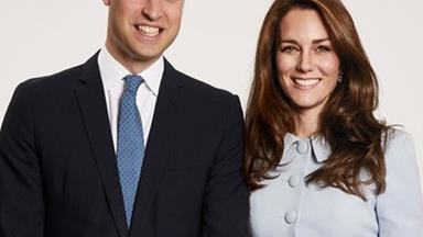 The Duke And Duchess Of Cambridge Share Their Christmas Family Portrait