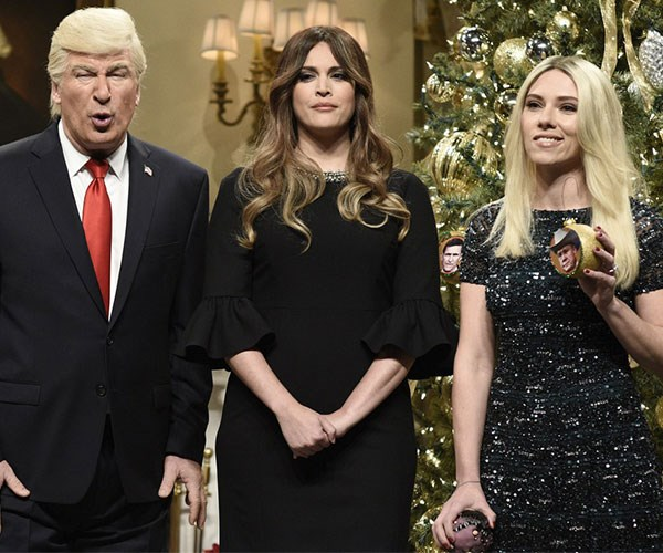 Scarlett Johansson Returns To 'Saturday Night Live' For Another Scathing Ivanka Trump Impersonation