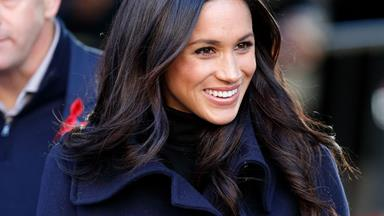 Meghan Markle Wore A Semi-Sheer Dress To The Queen's Pre-Christmas Lunch