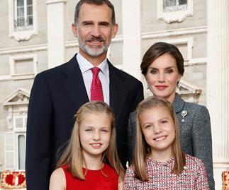 Spanish Royal Family Christmas Card 2017