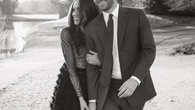 Meghan Markle Wore The Most Beautiful Couture Gown For Her Engagement Photos
