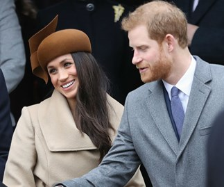 Meghan Markle and Prince Harry Christmas service