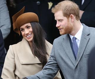 Meghan Markle and Prince Harry Christmas service