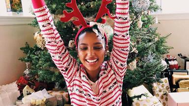How Your Favourite Models Celebrated Christmas