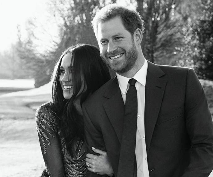 Meghan Markle Prince Harry Engagement Portraits