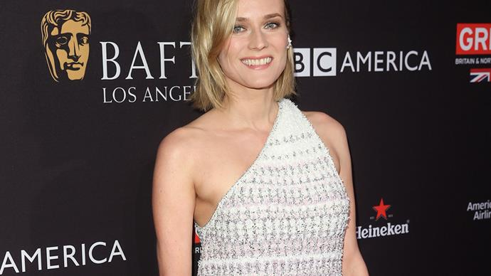 Diane Kruger in Chanel at BAFTA LA Tea Party