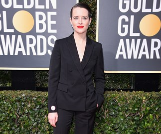 Claire Foy at the 2018 Golden Globes.