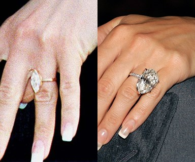 9 Celebrities Who Have Upgraded Their Engagement Ring