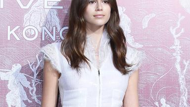 Kaia Gerber Looks Every Bit The Supermodel In Head-To-Toe Chanel