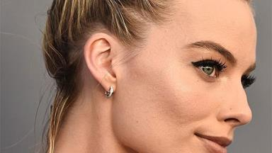 The Exact Eyeliner Margot Robbie Uses For A Perfect Cat-Eye