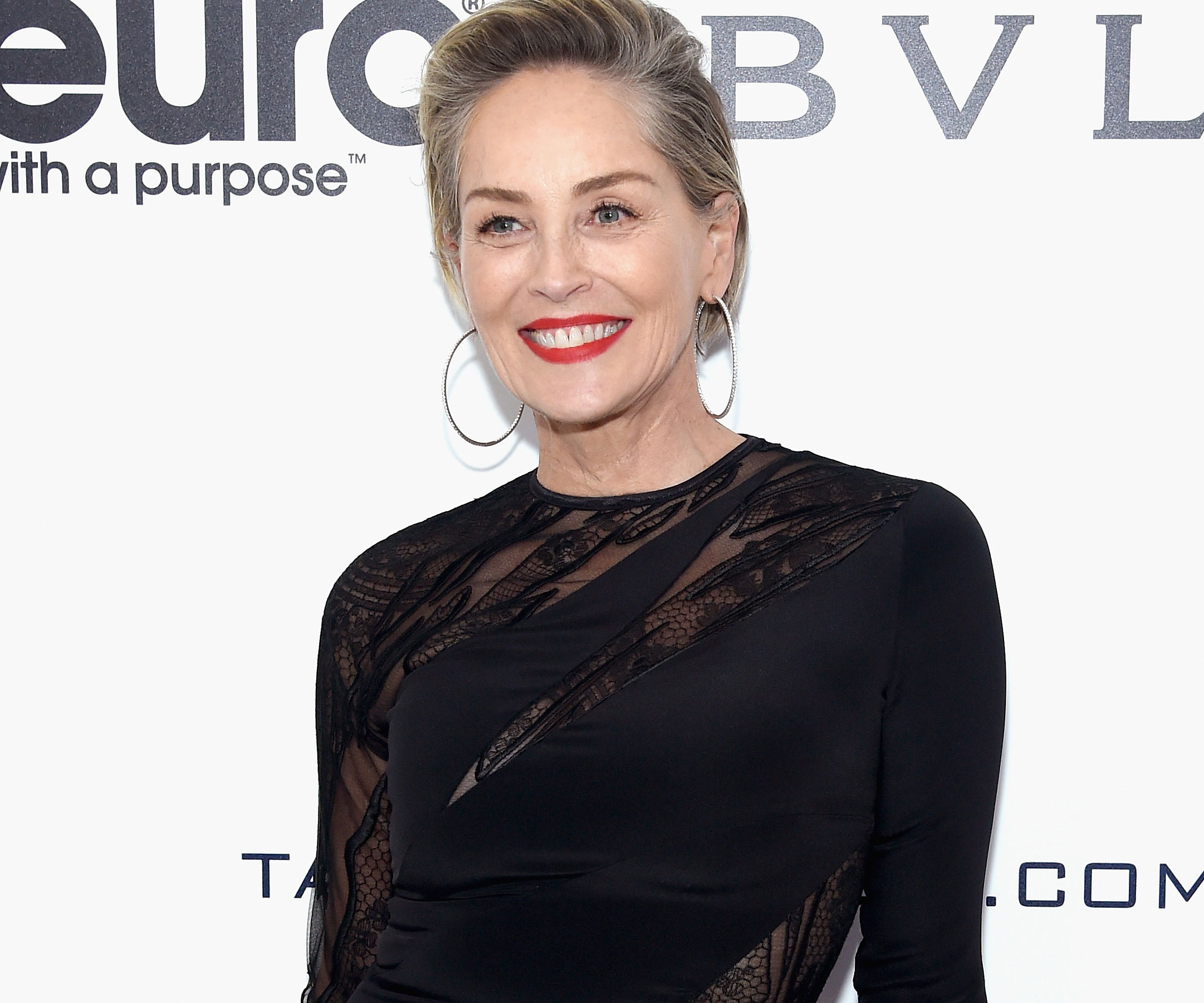 Sharon Stone Bursts Out Laughing When Asked If She's Been Sexually Harassed