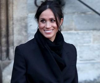 Meghan Markle Wears Stella McCartney Coat For Visit To Wales