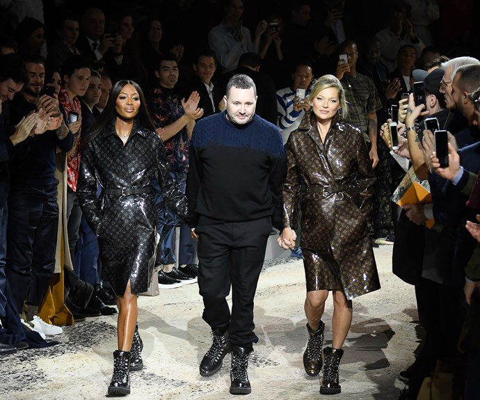 Kate Moss and Naomi Campbell Reunited On The Runway For Louis Vuitton