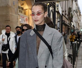 celebrity runway fashion