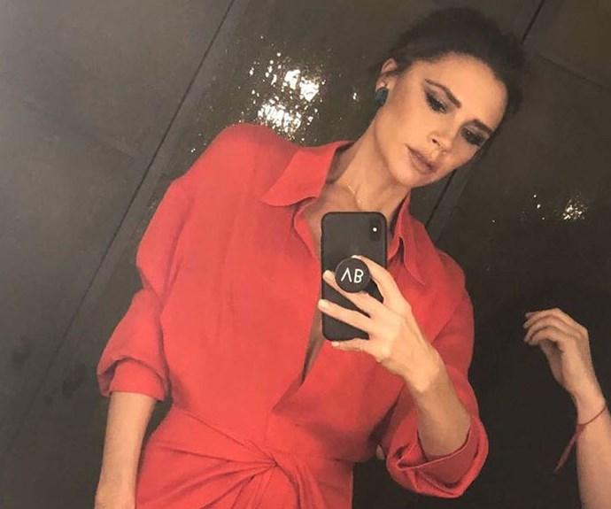 Is Victoria Beckham The New Queen Of The Mirror Selfie?
