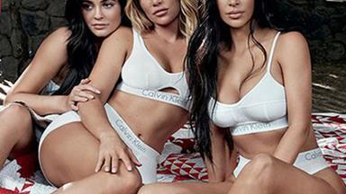 The Kardashians Unite For A New Calvin Klein Campaign