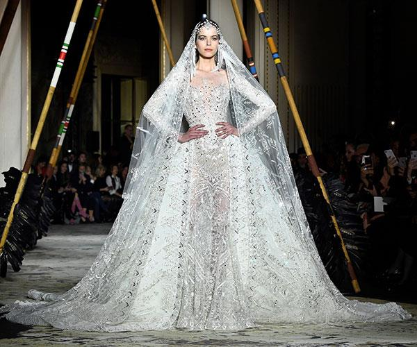 couture fashion week bridal inspiration