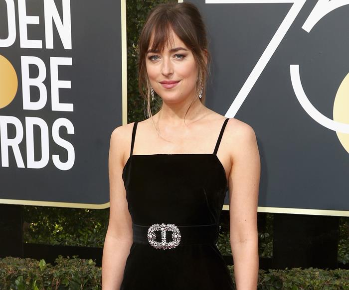 Dakota Johnson Finally Addressed That Much-Talked About Moment At The Golden Globes