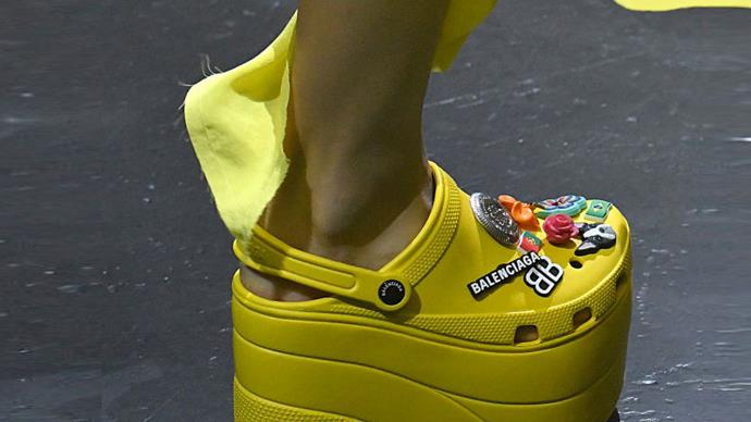 Balenciaga's Platform Crocs Are More Popular Than We Had Ever Imagined