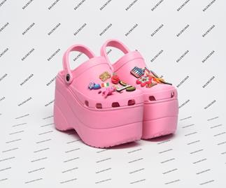Balenciaga's $1070 Platform Crocs Sold Out Before They Were Released