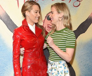 Blake Lively And Emily Blunt Nailed Valentine's Day Dressing At New York Fashion Week