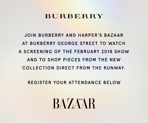 Burberry and Harper's BAZAAR invite you an exclusive shopping event