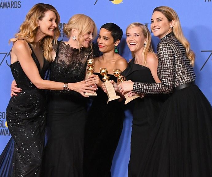 Big Little Lies 2 Is Bringing Back Laura Dern, Shailene Woodley, and Zoë Kravitz