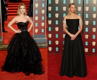 The Best Of The All Black BAFTAs Red Carpet