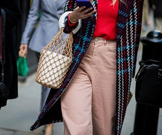 Staud Moreau Bag Fashion Week