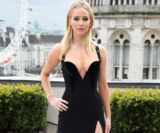 "Jennifer Lawrence Shuts Down ""Sexist"" Controversy Over Her Versace Dress"
