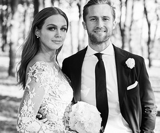 Ksenija Lukich wedding