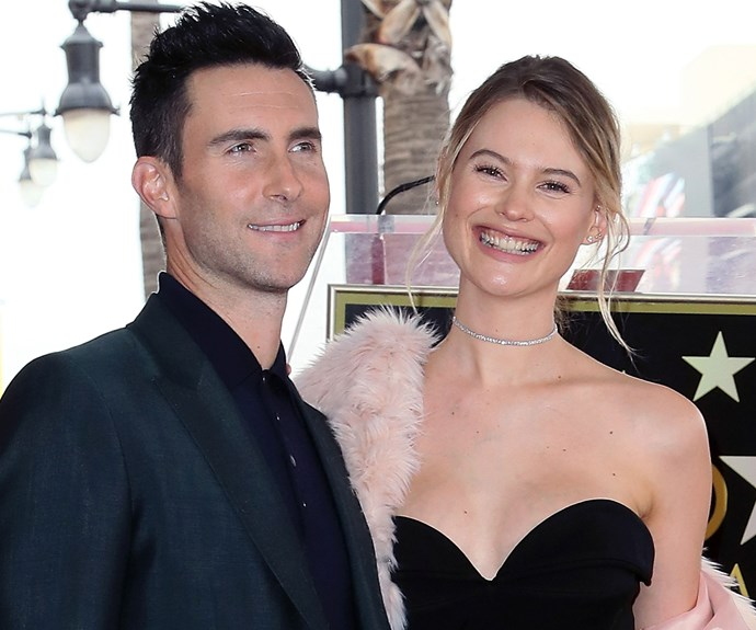 Behati Prinsloo Just Shared the First Photo of Her New Baby with Adam Levine
