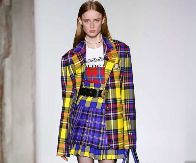 Versace's New Collection Was Made For A Millennial Cher Horowitz