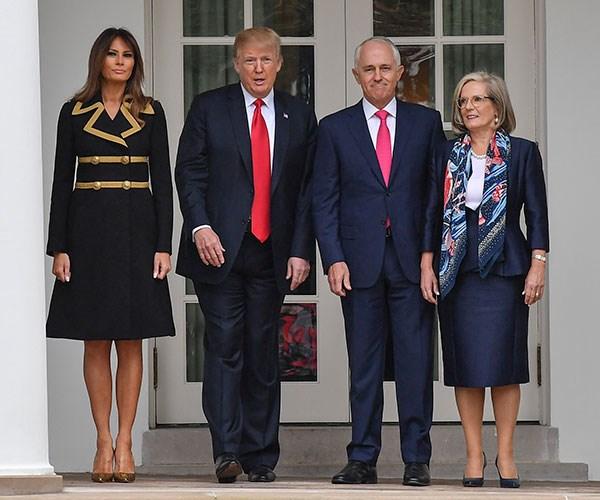 Melania Trump First Lady Style