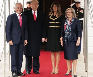 Malcolm and Lucy Turnbull Used Fashion To Troll Donald and Melania Trump