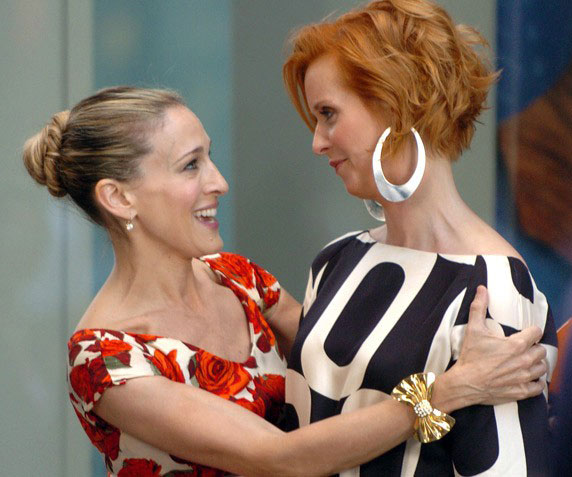 Did Cynthia Nixon Just Declare Herself Team Sarah Jessica Parker?