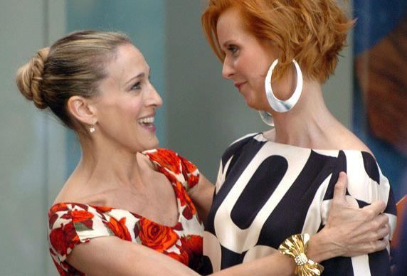 Did Cynthia Nixon Just Subtly Pick A Team In The 'Sex And The City' Drama?