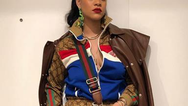 No One Wears Head-To-Toe Gucci Quite Like Rihanna