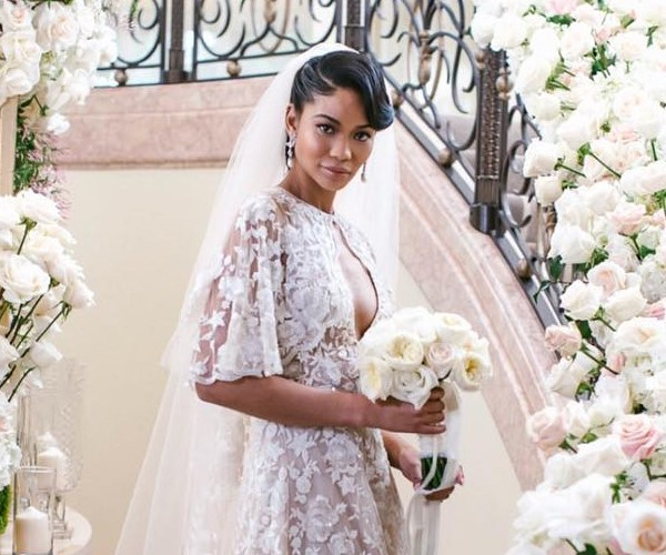 All The Dreamy Pictures From Chanel Iman's Wedding To Sterling Shepherd