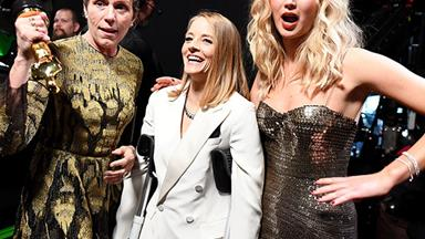 Frances McDormand Almost Had Her Oscar Stolen Last Night