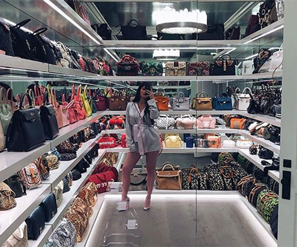 You need to see what's inside of Kylie Jenner's closet