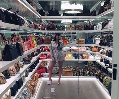 Kylie Jenner Shows Off Her Hermès Birkin-Filled Handbag Closet