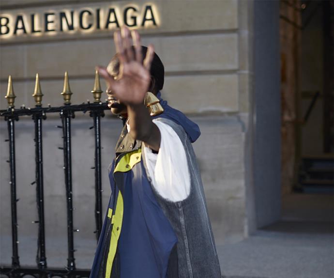 Balenciaga campaign.