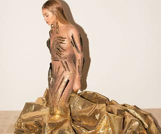 All The Details Behind Beyoncé's Intricate Gold Gown From The Wearable Art Gala