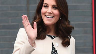 Charting Kate Middleton's Best Maternity Style Moments