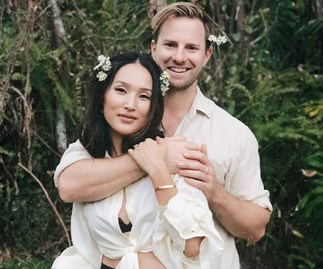 Here's The First Look At Nicole Warne's Gorgeous New Zealand Wedding