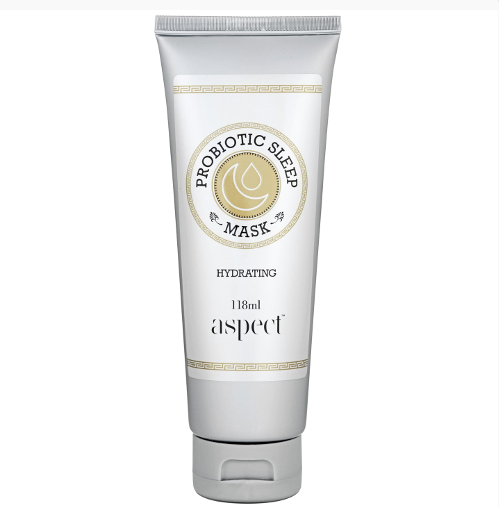 "**Aspect Gold Probiotic Sleep Mask, $59 at [Adore Beauty](https://www.adorebeauty.com.au/aspect/aspect-gold-probiotic-sleep-mask.html |target=""_blank"").** <br> This mask hydrates *and* delivers a dose of probiotics to your skin—all while you sleep."