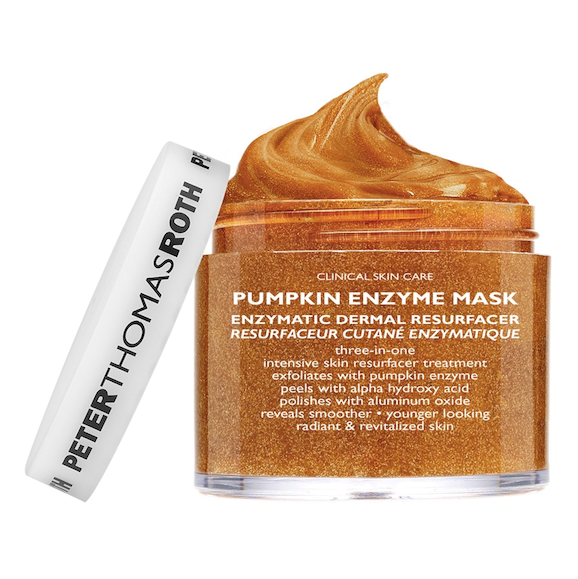 "**Peter Thomas Roth Pumpkin Enzyme Mask, $80 at [Sephora](https://www.sephora.com.au/products/peter-thomas-roth-pumpkin-enzyme-mask/v/default |target=""_blank"").** <br> The Peter Thomas Roth Pumpkin Enzyme Mask is a light peel that revives the skin with a little chemical exfoliation.  Leave it on for five to 10 minutes before washing off—and not a minute longer."