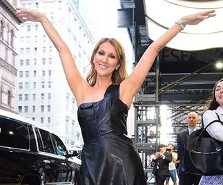 Celine Dion 50th birthday video